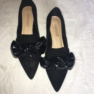 NWOT Shoedazzle Bow Flats